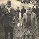 Octobre 1969, Curée à Grand fond après 7 heures de chasse