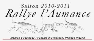 Carnet de chasse 2010-2011